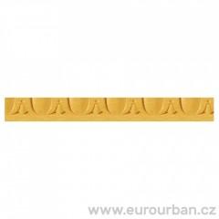 Vyřezávaná lišta ze dřeva 1284AH - Javor