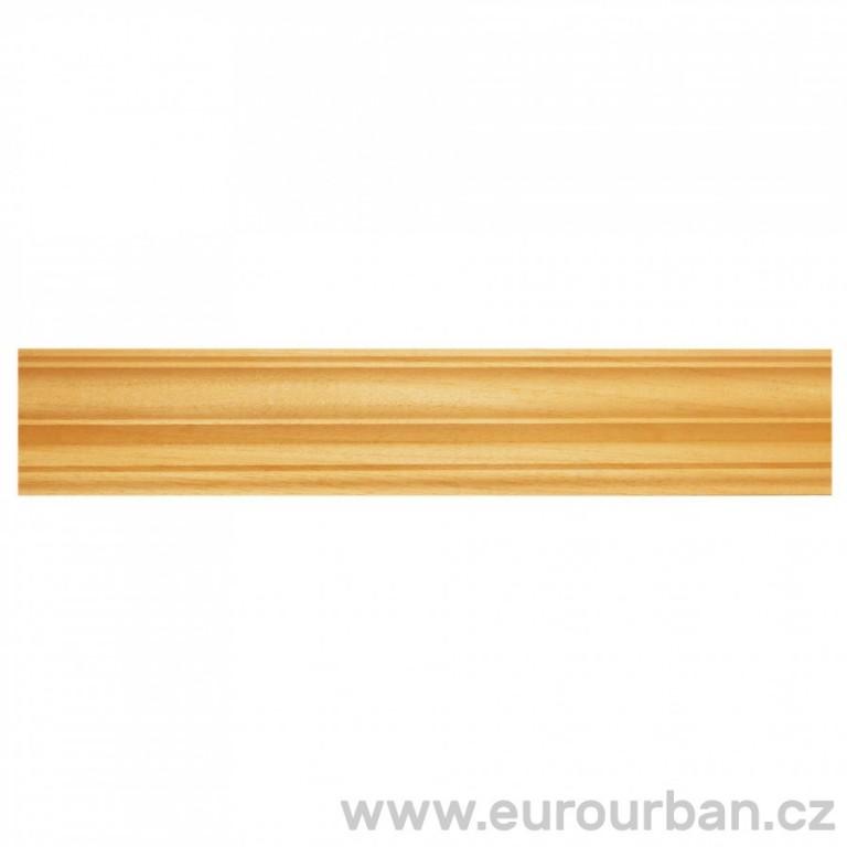 Dřevěná lišta z ayousového dřeva 1302/B - dřevo ayous
