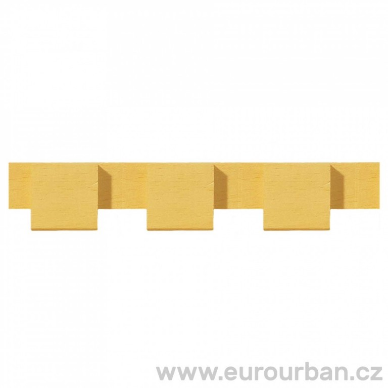 Dřevěná lišta s nevšedním vyřezáváním 1303/A - dřevina ayous
