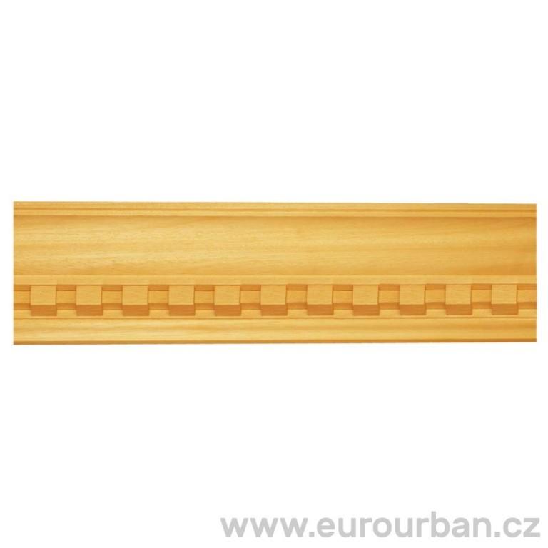Vyřezávaná lišta z ayousového dřeva 1303
