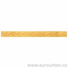 Dřevěná lišta s velmi jemným vzorem 1304 - toulip