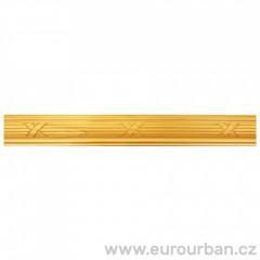 Dřevěná lišta se vzorem křížků 1310/A