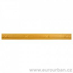 Vyřezávaná lišta se vzorem křížků 1310/B - dřevina toulip