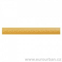 Vyřezávaná lišta s tradičním vzorem 1313 - dřevina toulip