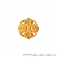 Vyřezávaná rozeta ve tvaru květiny RR19/B