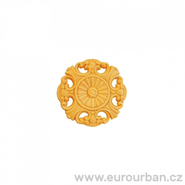Buková rozeta s ornamenty RR23
