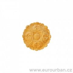Ornamenty na malé bukové rozetě RR60