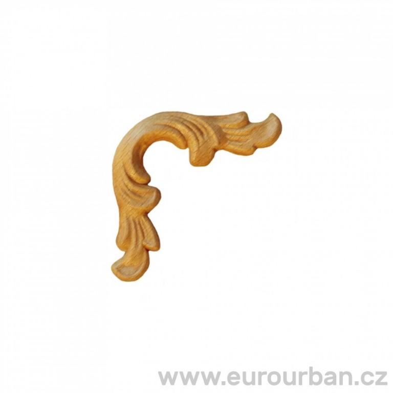 Dřevěný doplněk na roh ES130