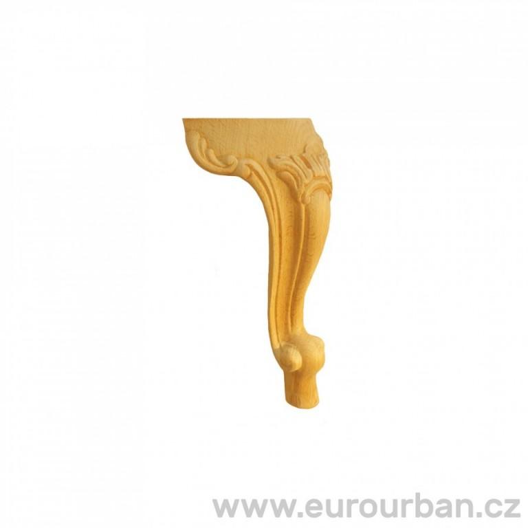 Stočená dřevěná noha FU7