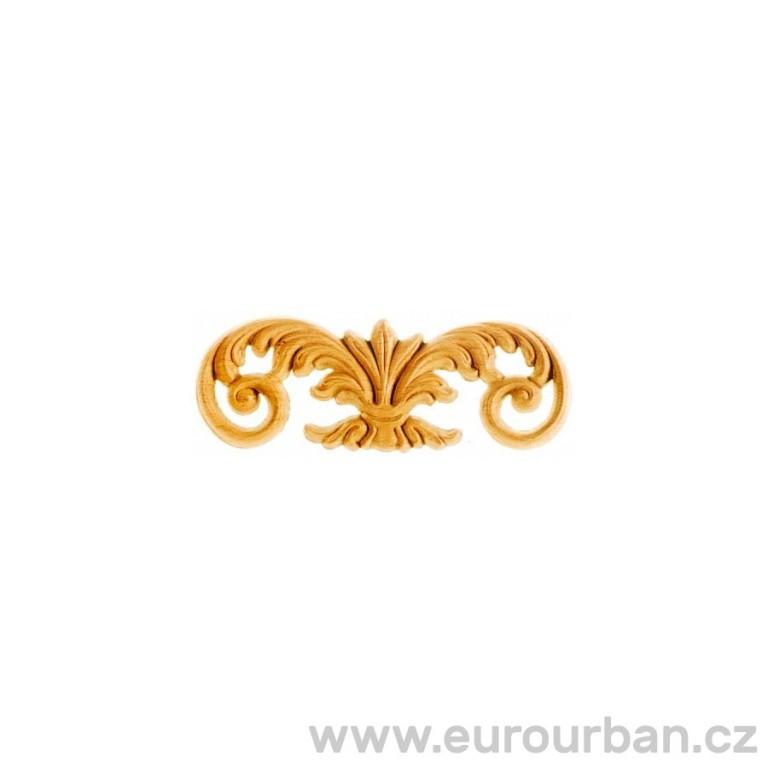 Vyřezávaný ornament dřevěný SK641