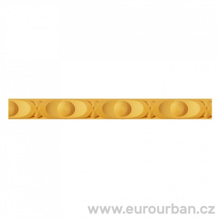 Vyřezávaná lišta z bukového dřeva 1216/130 - určená k ohýbání