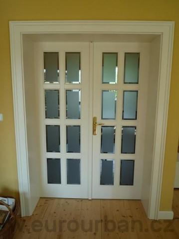 Interiérové dveře do soukromé vily v Černošicích