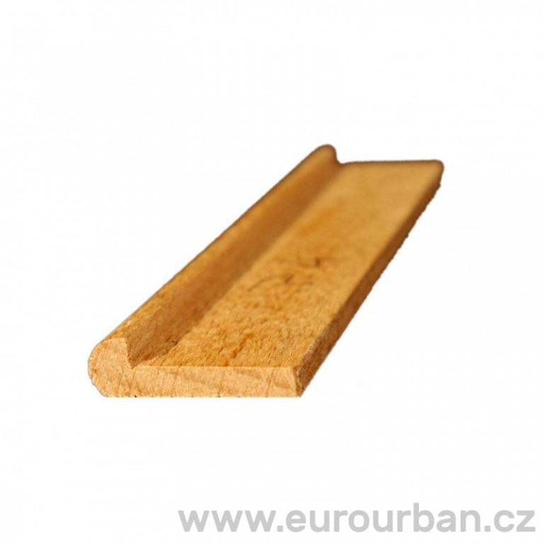 Dřevěná profilovaná lišta P-7