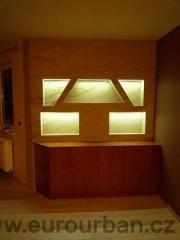 Osvětlení nábytku - stěna
