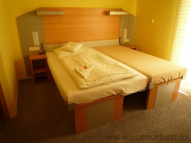 Roztahovací postel do hotelu v Plzni