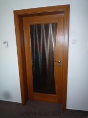 Designové dveře prosklené