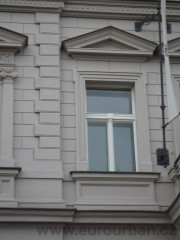 Špaletová okna památková zóna