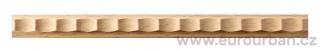 Dřevěná vzorovaná lišta 4003/15x6