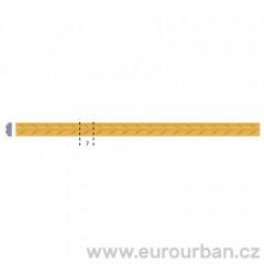 Vyřezávaná lišta se vzorem šipek 1239 tech