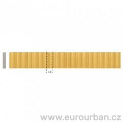 Dřevěná lišta s klasickým vzorem 1254 tech