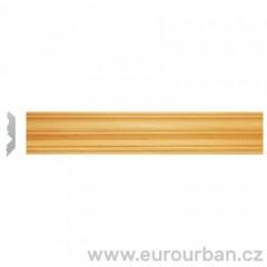 Dřevěná lišta z ayousového dřeva 1302/B tech