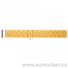 Velmi originální lišta z toulipového dřeva 1307 tech