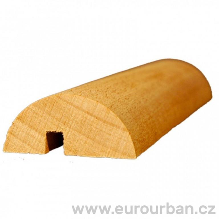 Profilovaná lišta z bukového dřeva P-11