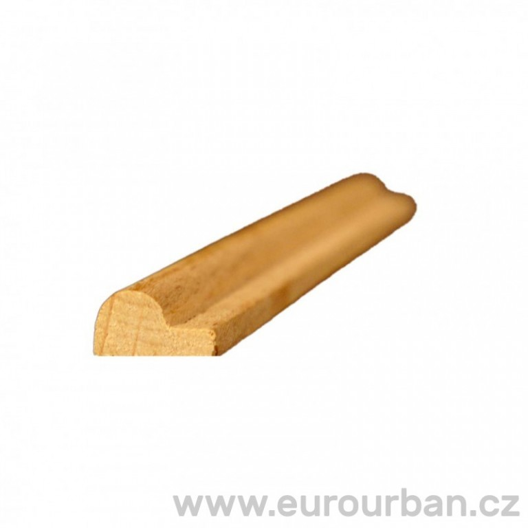 Klasická dřevěná profilovaná lišta P-103