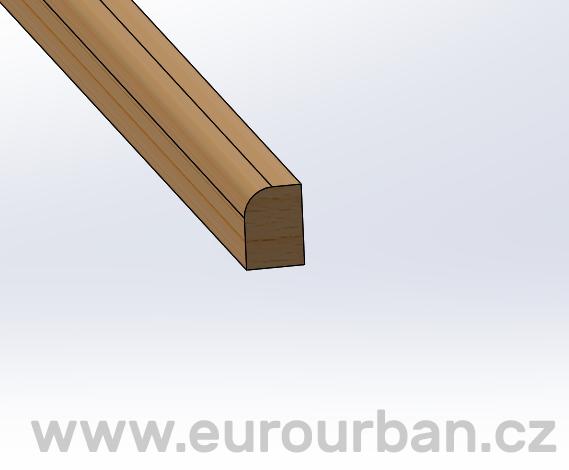 Podlahová lišta Bendywood SL-14x10/150