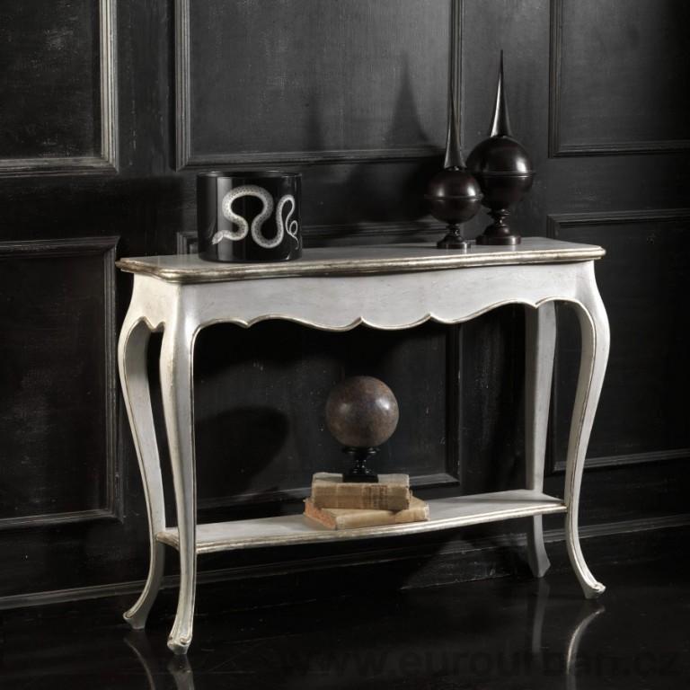 Jednoduchý historický konzolový stolek CA12
