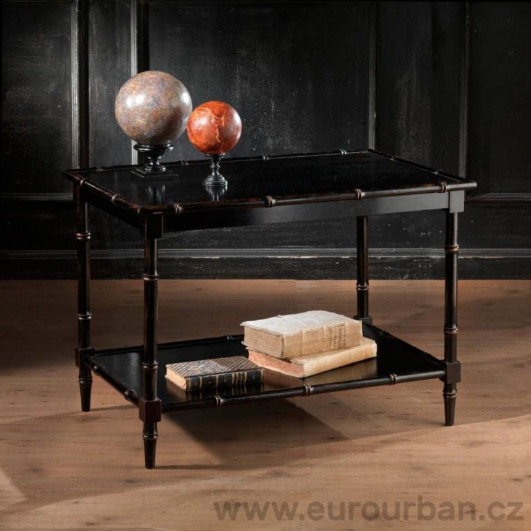 Obdélníkový stůl CA19 - napodobenina bambusu