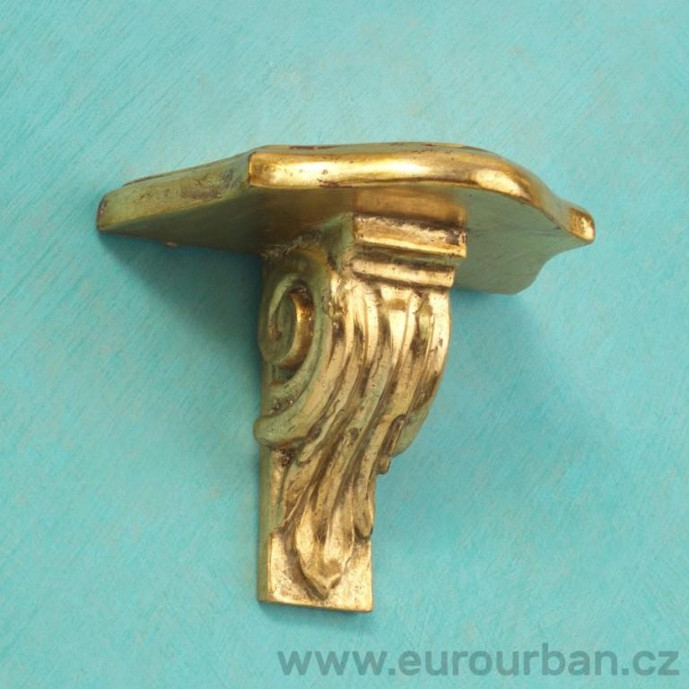 Zlatá polička s hlavicí jako podporou CA31
