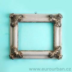 Rám - povrch oxidované stříbro