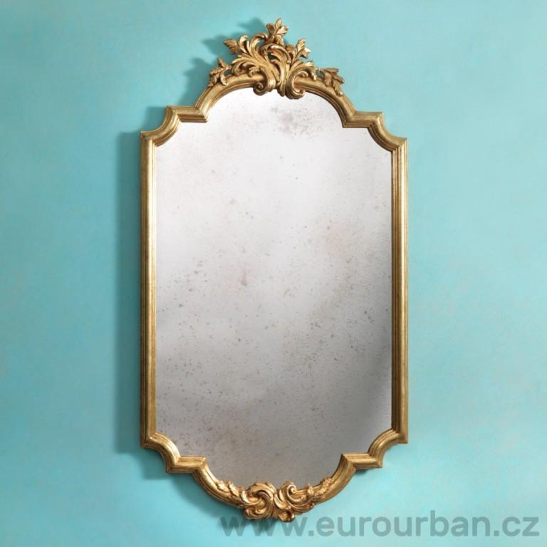 Vyřezávané tvarované zrcadlo CA56