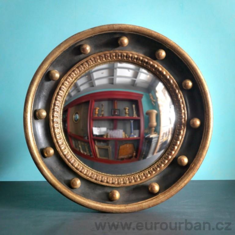 Vyřezávané kulaté zrcadlo CA58