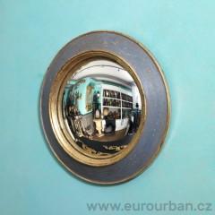 Vyřezávané kulaté zrcadlo CA59