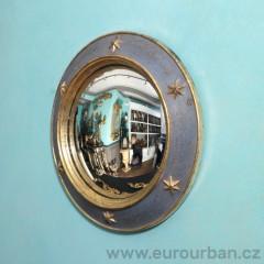 Vyřezávané kulaté zrcadlo CA60