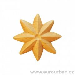 Dřevěná ozdobná hvězda RR70