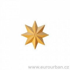 Dřevěná osmicípá ozdobná řezba hvězdy RR74/C