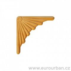 Dřevěná ozdoba na roh vyřezávaná ES152