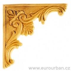 Dřevěná vyřezávaná ozdoba na roh ES149