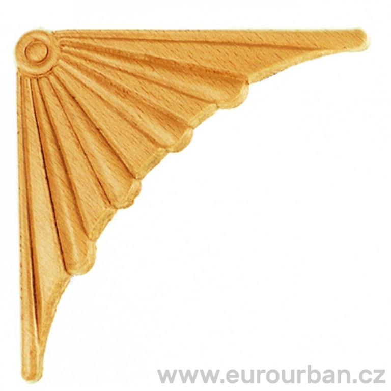 Dřevěná ozdoba na roh ES150