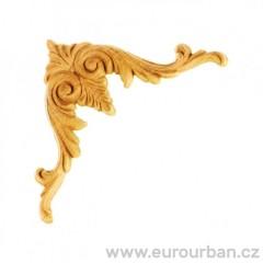 Vyřezávaná dřevěná ozdoba na roh ES139