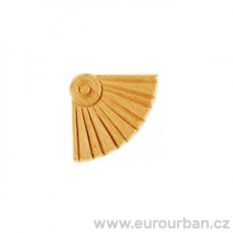 Dřevěná vyřezávaná ozdoba na roh ES151