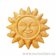 Vyřezávané ozdobné dřevěné sluníčko RR78