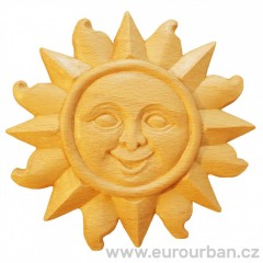 Slunce - dřevěná řezba ozdobná RR80