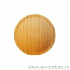 Dřevěná hladká kulatá řezba RR52 č.1